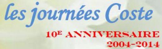 """""""Les journées Coste"""", fêtent leur dix ans !"""